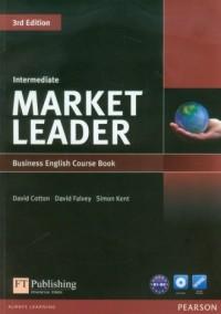 Market Leader. Intermediate Business English Course Book (+ DVD) B1-B2 - okładka podręcznika