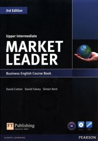 Market Leader. Upper Intermediate Business English Course Book (+ DVD) B2-C1 - okładka podręcznika