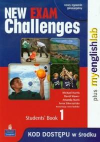 New Exam Challenges 1. Students Book. Język angielski. Gimnazjum - okładka podręcznika
