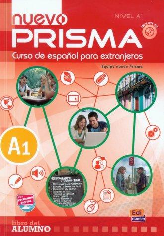 Nuevo Prisma nivel A1. Podręcznik - okładka podręcznika