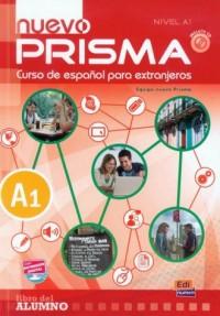 Nuevo Prisma nivel A1. Podręcznik (+ CD) - okładka podręcznika