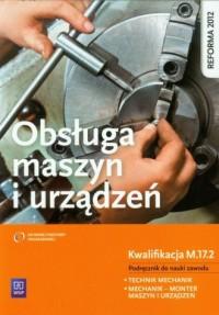 Obsługa maszyn i urządzeń. Podręcznik - okładka podręcznika