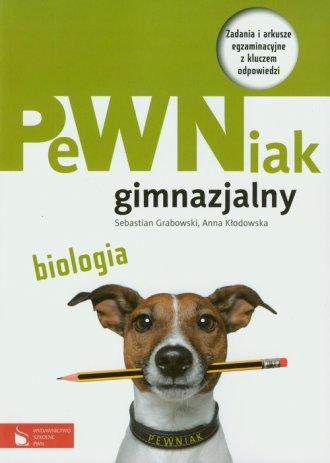 PeWNiak gimnazjalny. Biologia. - okładka podręcznika