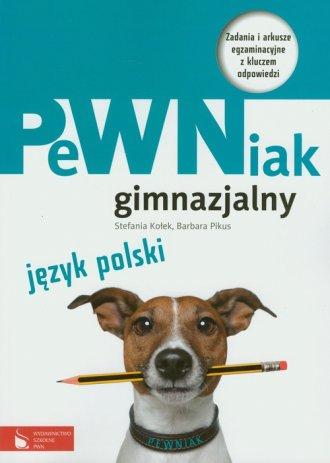 PeWNiak gimnazjalny. Język polski. - okładka podręcznika