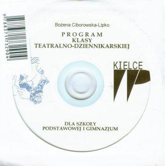 Program klasy teatralno-dziennikarskiej. - okładka płyty