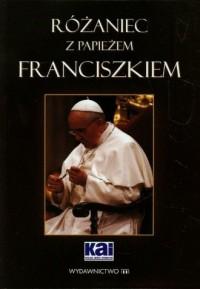 Różaniec z papieżem Franciszkiem - okładka książki