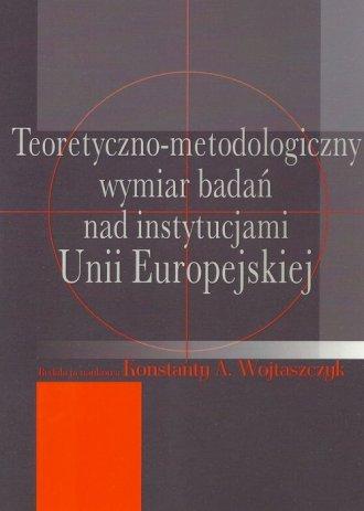 Teoretyczno-metodologiczny wymiar - okładka książki