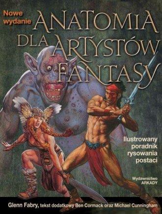 Anatomia dla artystów. Ilustrowany - okładka książki