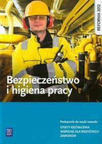 Bezpieczeństwo i higiena pracy. - okładka podręcznika
