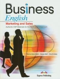 Business English. Marketing and Sales (+ CD) - okładka podręcznika