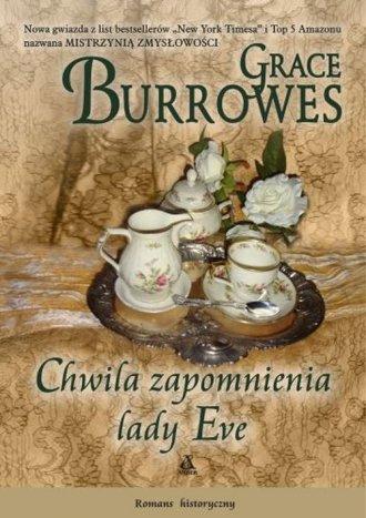 Chwila zapomnienia lady Eve - okładka książki