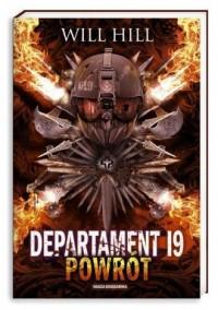 Departament 19. Powrót - okładka książki