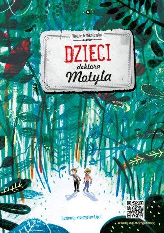 Dzieci doktora Motyla - okładka książki