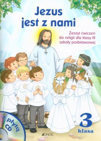 Jezus jest z nami. Religia. Klasa - okładka podręcznika