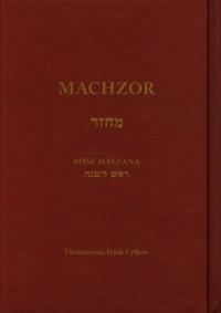 Machzor na Rosz Haszana - Wydawnictwo - okładka książki
