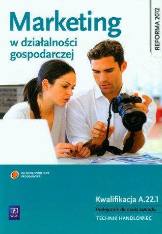 Marketing w działalności gospodarczej. - okładka podręcznika