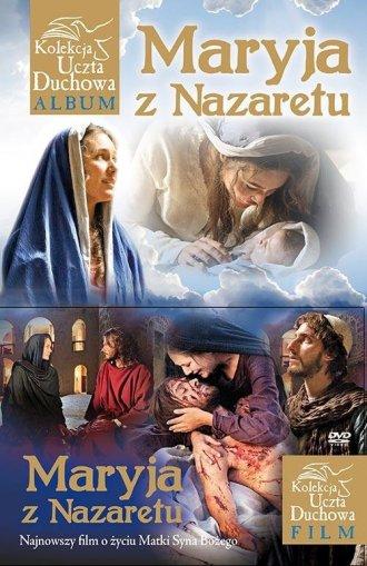 Maryja z Nazaretu (+ DVD) - okładka książki