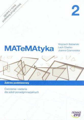 MATeMAtyka 2. Ćwiczenia i zadania. - okładka podręcznika