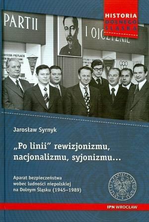 Po linii rewizjonizmu, nacjonalizmu, - okładka książki