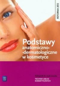 Podstawy anatomiczno-dermatologiczne - okładka podręcznika