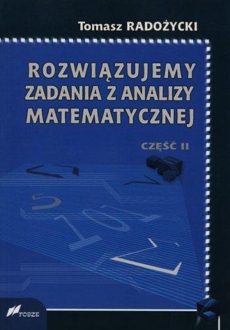Rozwiązujemy zadania z analizy - okładka książki