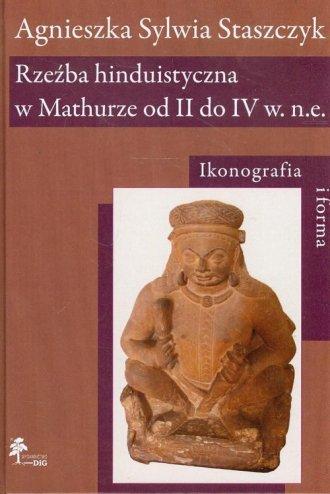 Rzeźba hinduistyczna w Mathurze - okładka książki