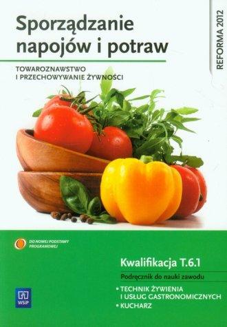 Sporządzanie napojów i potraw. - okładka podręcznika