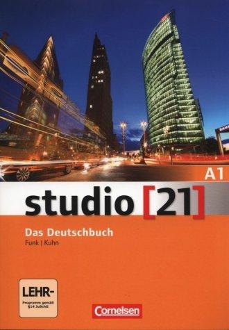 studio 21 A1. Das Deutschbuch Deutsch - okładka podręcznika