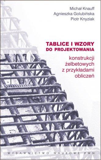 Tablice i wzory do projektowania - okładka książki