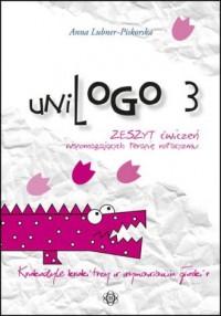 UniLogo 3. Zeszyt ćwiczeń wspomagających - okładka książki