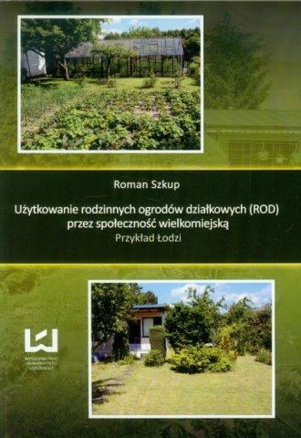 Użytkowanie rodzinnych ogrodów - okładka książki