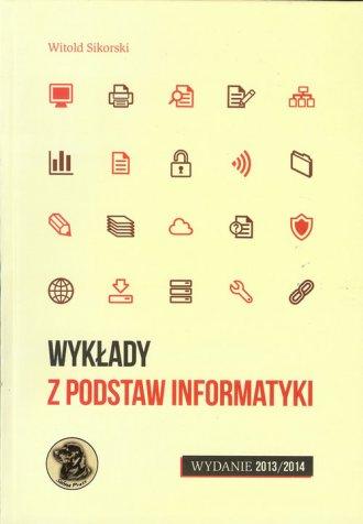 Wykłady z podstaw informatyki. - okładka książki