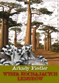 Wyspa kochających lemurów - okładka książki