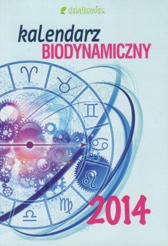 ok�adka ksi��ki - Kalendarz biodynamiczny 2014 - Wydawnictwo Dzia�kowiec
