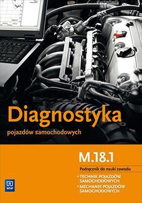 Diagnostyka pojazdów samochodowych. - okładka podręcznika