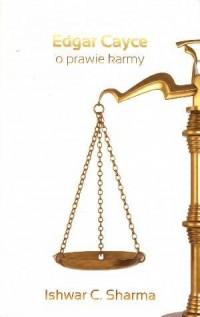Edgar Cayce o prawie karmy - okładka książki