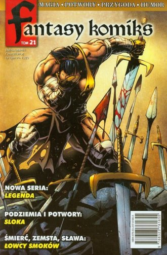 Fantasy Komiks. Tom 21 - okładka książki