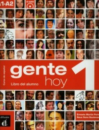 Gente Hoy 1. Podręcznik (+ CD) - okładka podręcznika