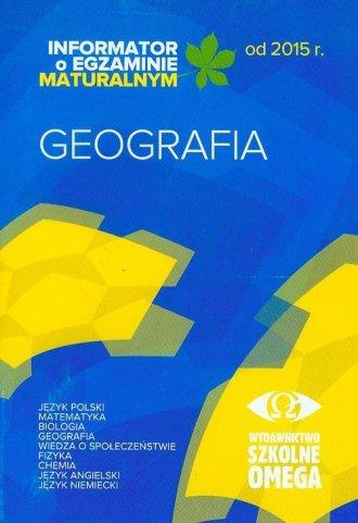 Geografia. Informator o egzaminie - okładka podręcznika