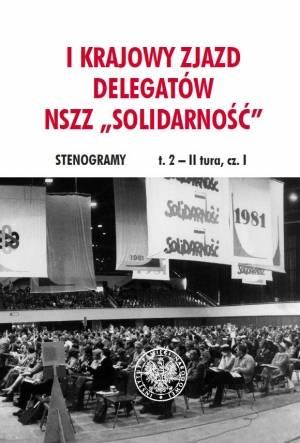 I Krajowy Zjazd Delegatów NSZZ - okładka książki