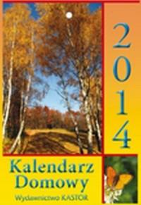 Kalendarz 2014. Kalendarz Domowy - okładka książki
