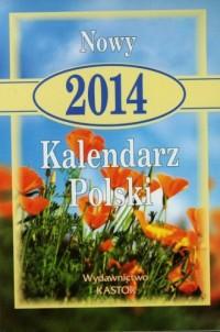 Kalendarz 2014. Nowy kalendarz Polski - okładka książki