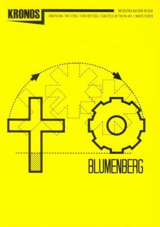 Kronos nr 2/2013. Blumenberg - okładka książki
