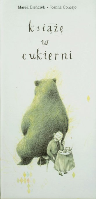 Książę w cukierni - okładka książki