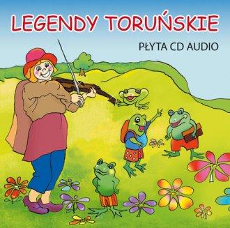 Legendy toruńskie (CD mp3) - pudełko audiobooku