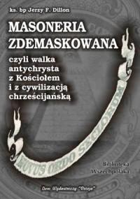 Masoneria zdemaskowana - okładka książki