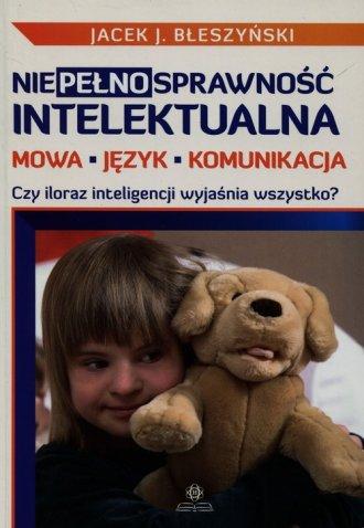 Niepełnosprawność intelektualna. - okładka książki