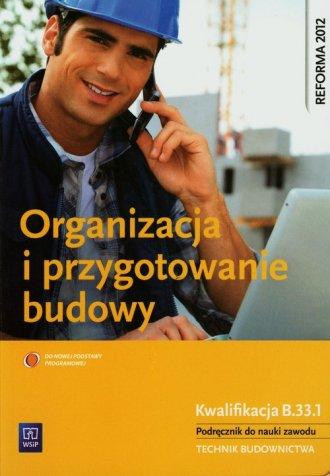 Organizacja i przygotowanie budowy. - okładka podręcznika