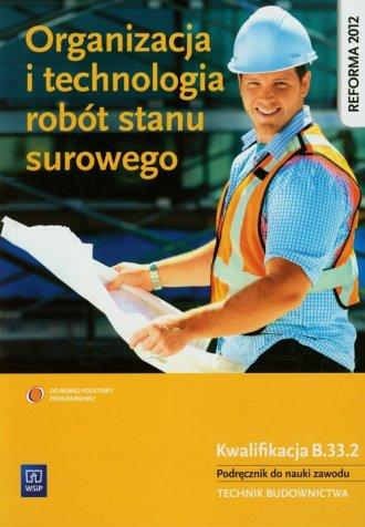 Organizacja i technologia robót - okładka podręcznika