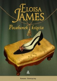 Pocałunek księcia - okładka książki